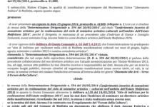 """Abbiamo diffidato l'amministrazione Comunale e chiesto la revoca della nomina del """"direttore artistico"""" Ancona"""