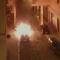 Ancora incendi nella notte in via Carlo Pisacane