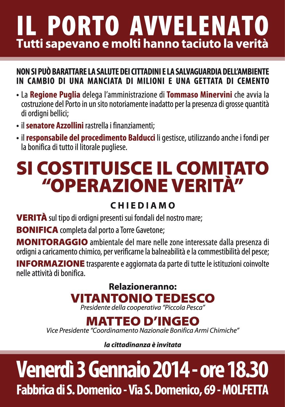 Convegno COMITATO 3.01.2014