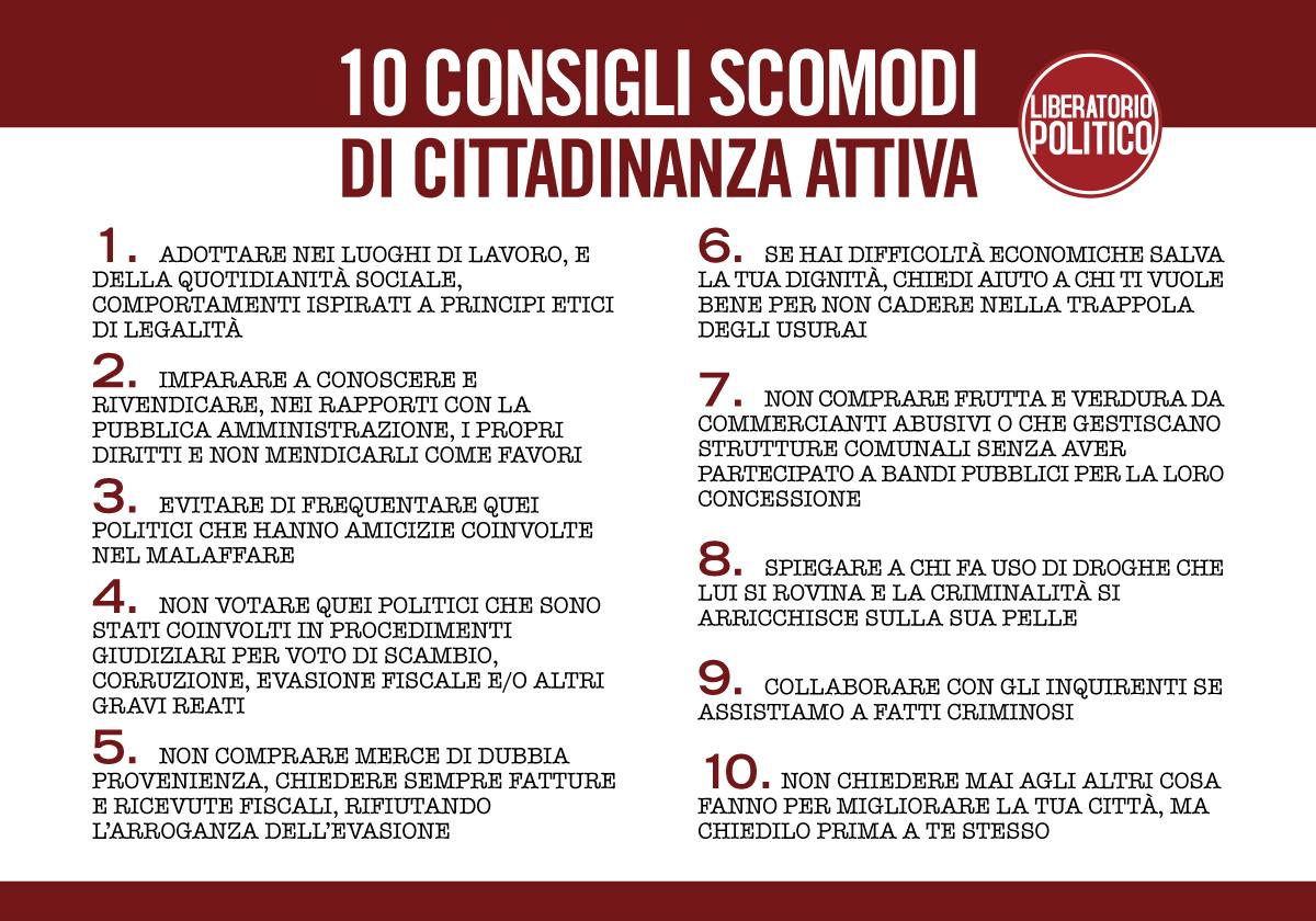 Manifesto LIBERATORIO 10 CONSIGLI SCOMODI 1200x840 copia
