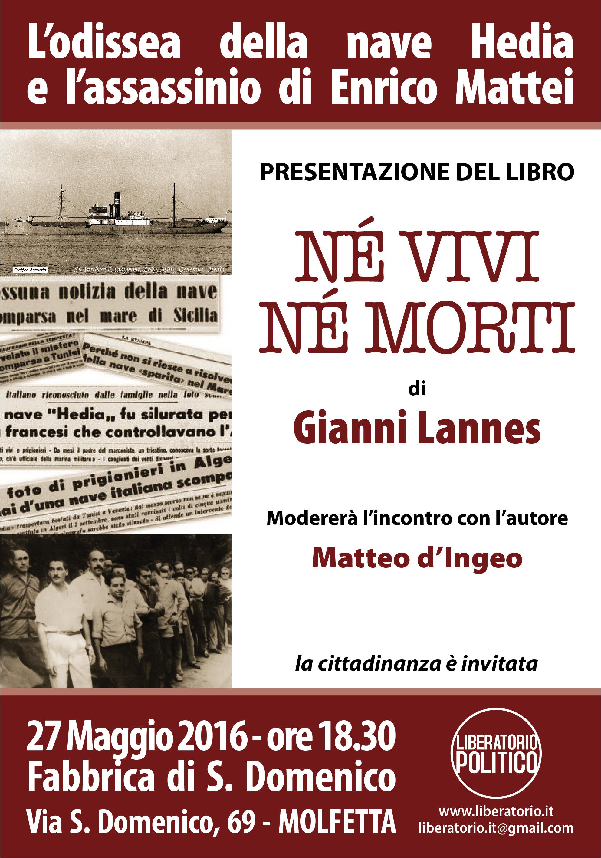 2016.05.27-Convegno LIBERATORIO-GIANNI LANNES-Né vivi né morti