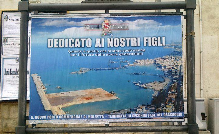 Udienza preliminare il 30 settembre per l'affare del porto di Molfetta