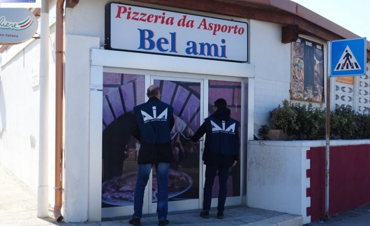 Bari, sigilli a pizzerie e imprese di un pregiudicato: sulla carta era nullatenente