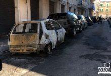 Incendio d'auto in via Panunzio. E domani a chi toccherà?
