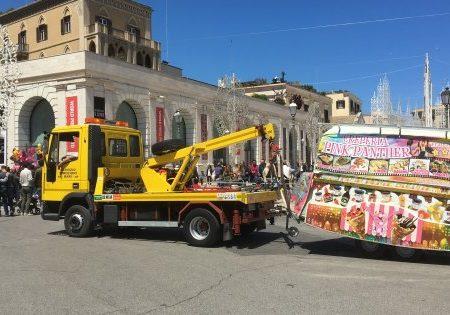 Festa san Nicola a Bari, tolleranza zero contro gli abusivi: sequestrati fast food e fornacelle