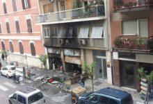 Bari, incendio in corso Sonnino: distrutto negozio 'Non solo Moda'