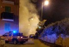 Si conclude la campagna elettorale con un'auto incendiata nel quartiere Madonna dei Martiri