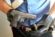 Molfetta – Arrestato dai Carabinieri un pregiudicato 46enne – trovato in possesso di una pistola cal. 7,65