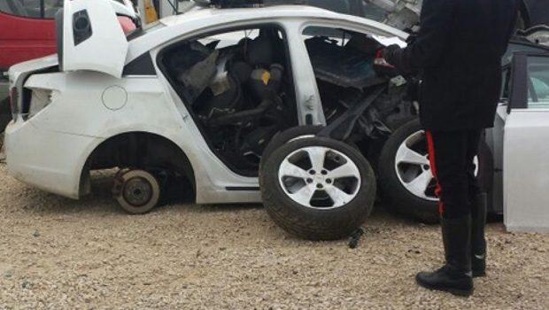 Trovate a Terlizzi auto rubate anche a Molfetta