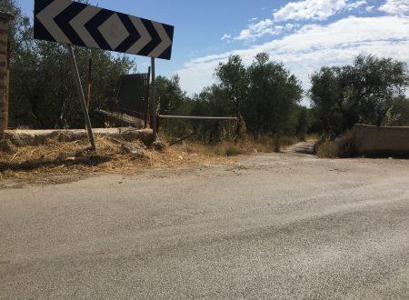 Qualcuno sta creando una discarica abusiva di inerti nei pressi di via S.Aleramo