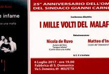 I mille volti del malaffare – 25° anniversario dell'omicidio del sindaco Gianni Carnicella