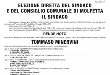 Proclamazione degli eletti al Consiglio Comunale di Molfetta