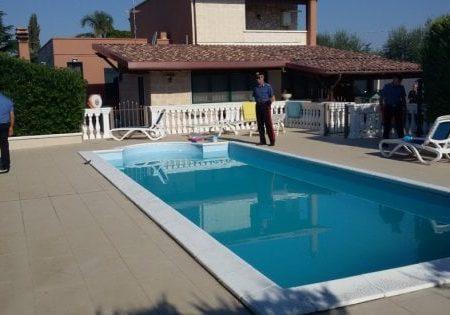 Andria, povero per il fisco ma abitava in una villa di lusso con piscina: confiscati i beni al narcotrafficante