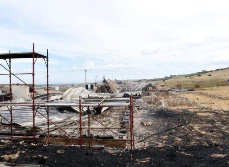 """Foggia, distrutto dalle fiamme il sito archeologico di Faragola: """"Forse utilizzato esplosivo"""""""