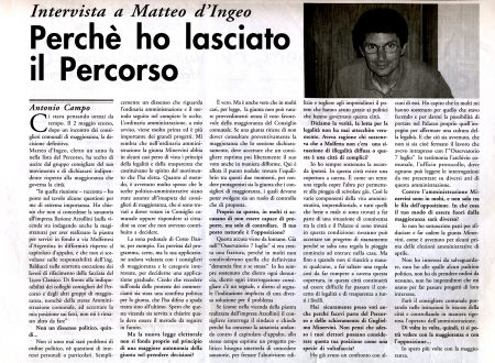 Amarcord… 26 Giugno 1995