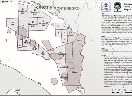 Il Comitato Bonifica Molfetta conferma la presenza di giacimenti di ordigni bellici inesplosi nelle zone dei permessi concessi alla Global Petroleum