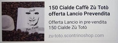 Mafia, bloccato l'annuncio online sulle cialde di caffè dedicate a Totò Riina