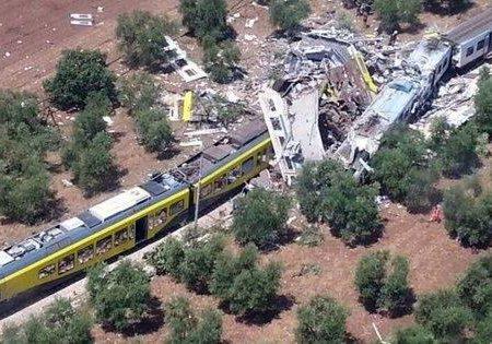 Disastro ferroviario sulla Andria-Corato, chiesti 19 rinvii a giudizio