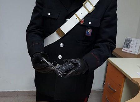 Porto illegale di arma da fuoco, arrestato un 19enne molfettese