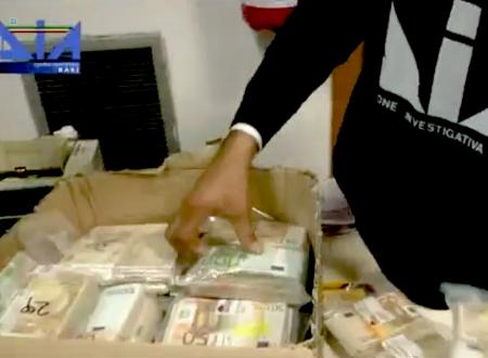 BARI: Operazione antiriciclaggio, sequestro preventivo di beni del valore di 31 milioni di euro nei confronti di 28 persone