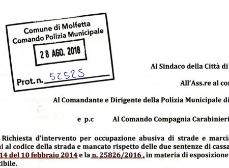 La latitanza dell'amministrazione comunale in materia di contrasto all'abusivismo, ultimo esposto