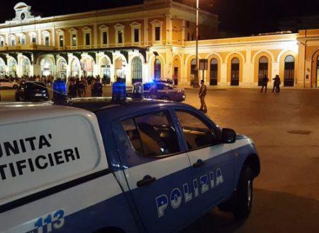 Bari, allarme bomba in stazione centrale: chiuso accesso ai viaggiatori