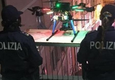 """Bari, vigili urbani con il drone: """"Scoveremo dall'alto l'abusivismo e chi sporca la città"""""""