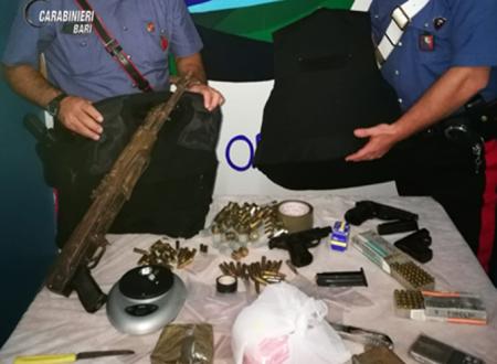 Arsenale di armi da guerra detenuto in un casolare. Arrestato dai Carabinieri un 55enne incensurato
