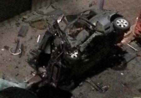 Corato, bomba artigianale esplode nella notte: salta in aria l'auto di un carabiniere