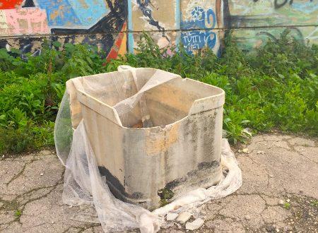 C'era una volta un serbatoio di eternit-amianto… e ora non c'è più.