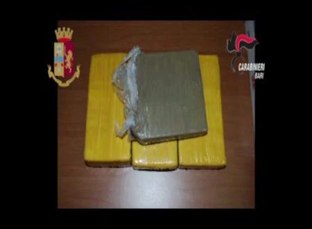 Andria: associazione di trafficanti di sostanze stupefacenti sgominata da un'operazione di Polizia e Carabinieri