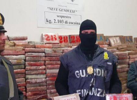 In porto a Genova il più grande sequestro di cocaina degli ultimi 25 anni