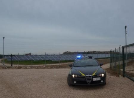 Operazione 'Raggio di Sole'. Guardia di Finanza sequestra impianti fotovoltaici.