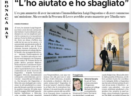 """Savasta e l'amico dei Renzi: """"L'ho aiutato e ho sbagliato"""