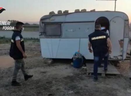 Caporalato, blitz nel Foggiano: arrestati due imprenditori, migranti stipati nei container
