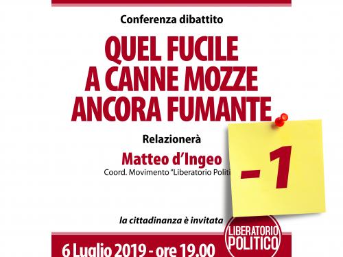 27° ANNIVERSARIO DELL'OMICIDIO DEL SINDACO GIANNI CARNICELLA
