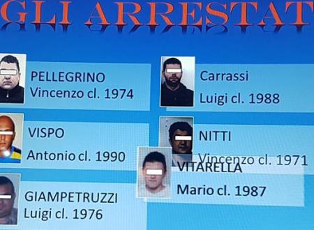 Arrestate sei persone per associazione a delinquere finalizzata al furto, ricettazione e riciclaggio