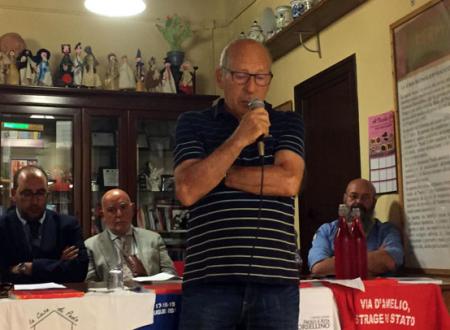 Lettera di Salvatore Borsellino inviata al Presidente della Commissione antimafia Morra