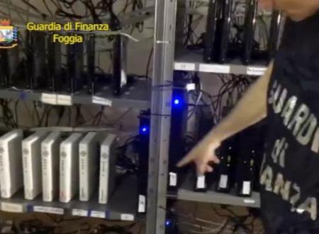 """Foggia, decoder abusivi e smart tv """"piarata"""" nei bar: 13 gestori denunciati"""