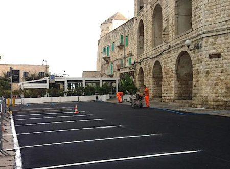 Lo spazio antistante Palazzo Dogana è ancora riservato a parcheggio per residenti?