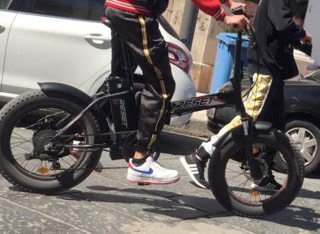 Biciclette elettriche utilizzate per lo spaccio di stupefacenti