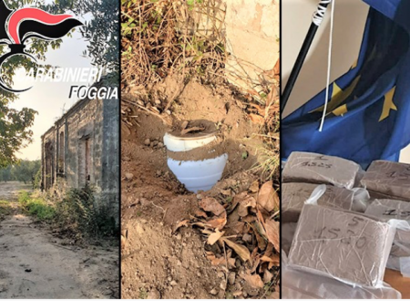 Allarmante scoperta a San Severo: quasi 8 kg di kobret, l'eroina per tutte le tasche