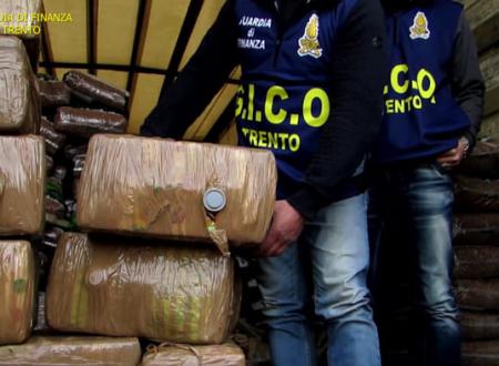 Camorra, mafia pugliese e trafficanti marocchini: maxioperazione della GdF di Trento