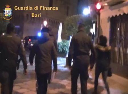 Traffico di droga con Albania, arresti e sequestri a Bari, Mola di Bari, Polignano a Mare, Cellamare, Molfetta, Bisceglie