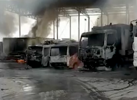San Severo, il racket dei rifiuti: incendio distrugge 23 mezzi azienda raccolta.