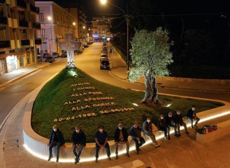 Un messaggio di speranza e … di fiori, costato 3.000,00 euro