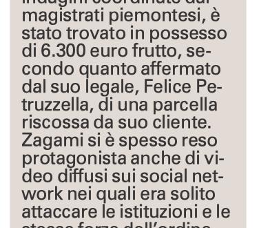 L'arresto di Vincenzo Zagami, corsi e ricorsi storici. – Z.4