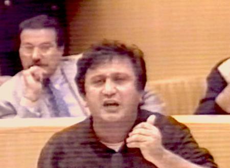 Una seduta del consiglio comunale di Molfetta del 25 Ottobre 1994