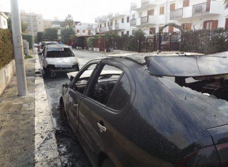 A Giovinazzo 9 auto bruciate in 24h, l'emergenza sicurezza e criminalità non interessa solo Bitonto