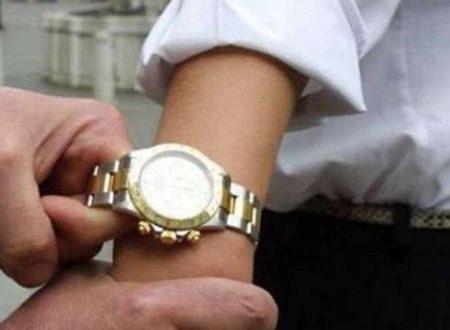 Imprenditore molfettese rapinato dell'orologio Rolex, semplice rapina o un atto intimidatorio di preavviso?